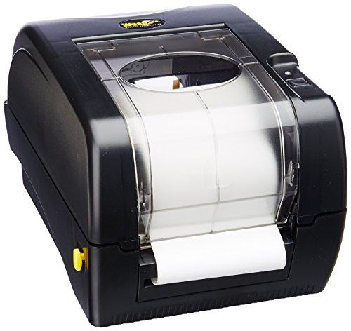 Wasp WPL305 Monochrome Direct Thermal Label Printer with Reflective Media Sensor 5 ins Print Speed 203 dpi Print Resolution 425 Print Width 110220V AC