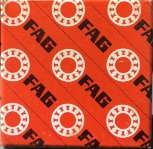 FAG 7210B-TVP-UO Angular Contact Ball Bearing Single Row Open 40° Contact Angle PolyamideNylon Cage Normal Clearance Metric 50mm ID 90mm OD 20mm Width 8000rpm Maximum Rotational Speed 6950lbf Static Load Capacity 8300lbf Dynamic Load Capacity