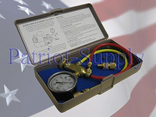 Mitco P115-2M Kwik-Check II Oil Pump Pressure Cuftoff Tester Same as Sid Harvey P115-2