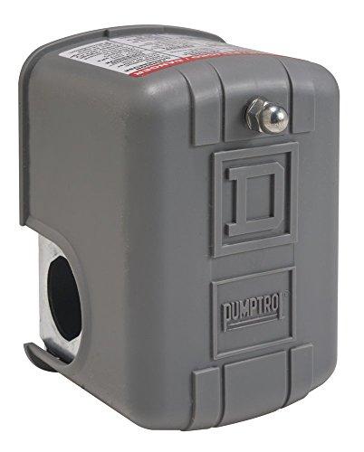 Square D by Schneider Electric 9013FSG52J33 Air-Pump Pressure Switch NEMA 1 50-70 psi Pressure Setting 25-80 psi Cut-Out 20-30 psi Adjustable Differential