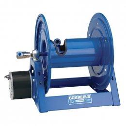Compressed Air 4 Gast Motor Rewind Hose Reel 12 ID 325 hose capacity less hose 5000 PSI