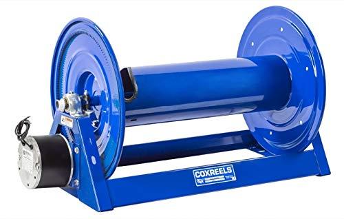 Compressed Air 4 Gast Motor Rewind Storage Hose Reel multiple hose capacity less hose