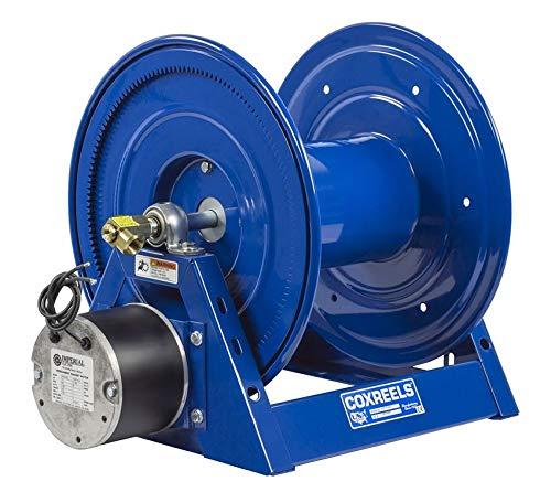 Compressed Air 6 Gast Motor Rewind Hose Reel 12 ID 325 hose capacity less hose 5000 PSI