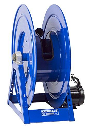 Coxreels 1185-3328-AB Compressed Air 6 Gast Motor Rewind Hose Reel 1 12 ID 250 hose capacity less hose 600 PSI
