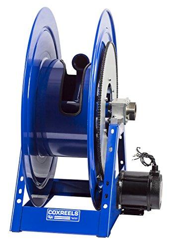 Coxreels 1195-2428-AB Compressed Air 6 Gast Motor Rewind Hose Reel 2 ID 90 hose capacity less hose 600 PSI