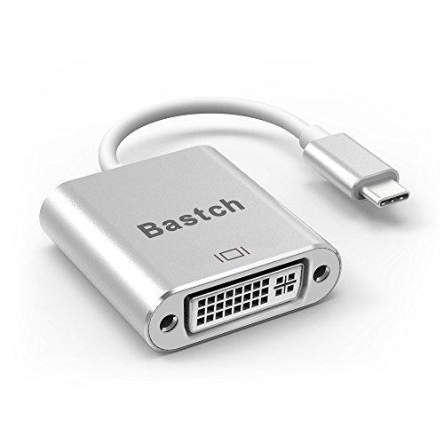 USB C to DVI AdapterBastch USB 31 Type C USB-C to DVI Adapter with Aluminium Case for 2017 MacBook ProSamsung Galaxy S8