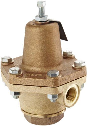 Cash Valve 02770-0100A Bronze Pressure Regulator 50 - 150 PSI Pressure Range 12 NPT Female