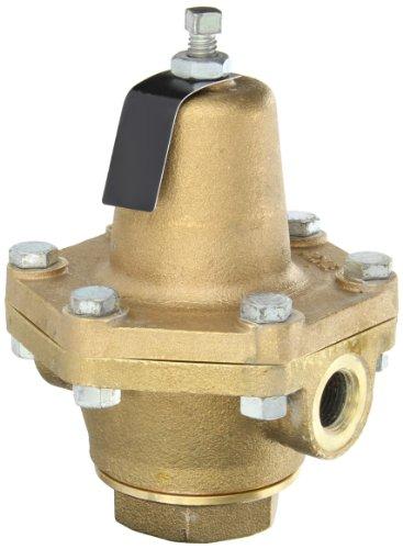 Cash Valve 15580-0078 Bronze Pressure Regulator 30 - 125 PSI Pressure Range 12 NPT Female