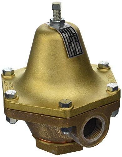 Cash Valve 1875-0028 Bronze Pressure Regulator 10 - 45 PSI Pressure Range 1 NPT Female