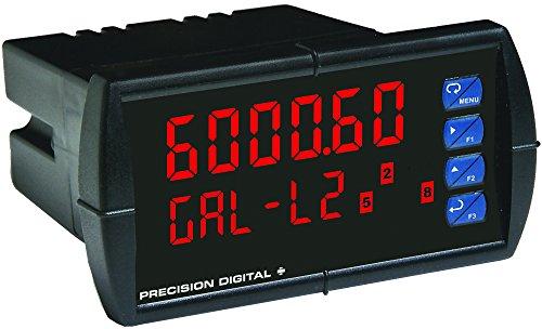 Precision Digital PD6000-6R2 0-10V 4-20mA LED Digital Panel Meter NEMA 4X 18 DIN 2 Relays