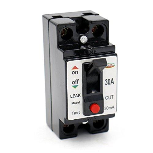 Baomain AC 110V 220V 30A 2P ELCB Earth Leakage Circuit Breaker