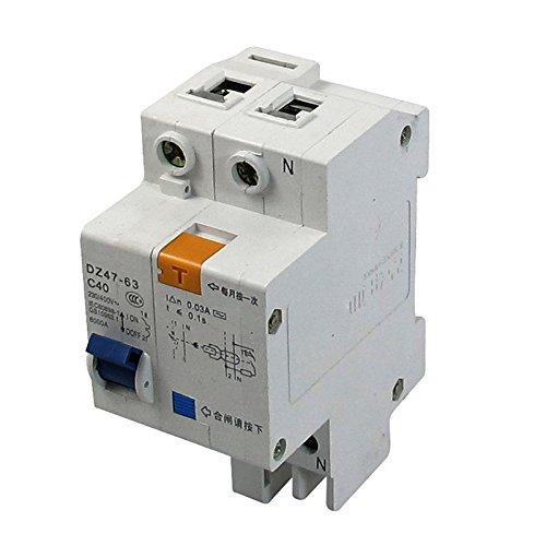 SODIALR AC 230V400V 40A 6000A Breaking Capacity DIN Rail Earth Leakage Circuit Breaker