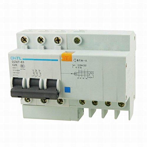 Ucland DZ47-63 C25 3 Pole 25A Mini  Earth Leakage Circuit Breaker