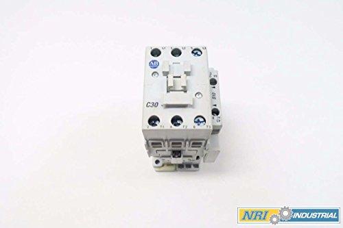 ALLEN BRADLEY 100-C30D00 120V-AC 20HP 55A AMP AC CONTACTOR D538657