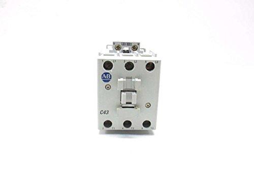 ALLEN BRADLEY 100-C43D00 SER A 120V-AC 30HP 63A AMP AC CONTACTOR D511107