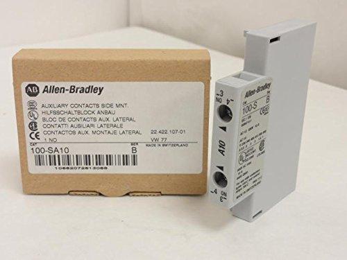 Allen-Bradley 100-SA10 Aux Contact 10A 600VAC 1-NO