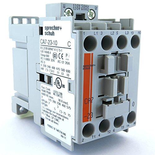 CA7-23-10-24Z 23A Contactor w 24V Coil Fits Allen Bradley 100-C23KJ10