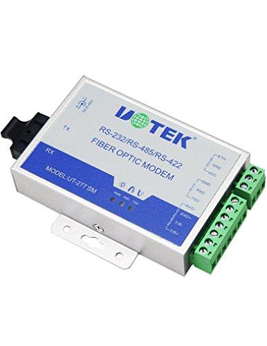 UTEK UT-277SM-ST RS-232422485 to Optical Fiber Media Converters