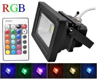 HP 10w LED Colored Flood Light