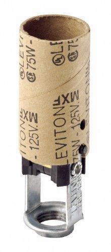Leviton 041-10025 Candelabra Socket Black