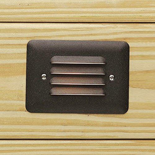 Kichler 15782AZT27 Landscape 12V LED Step Light Deck LED 1W
