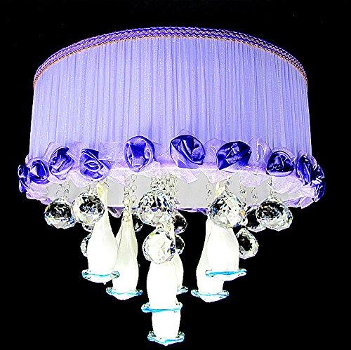BSYY Modern minimalist living room lighting led sewing lamp warm bedroom light dining room study lighting 420160 mm