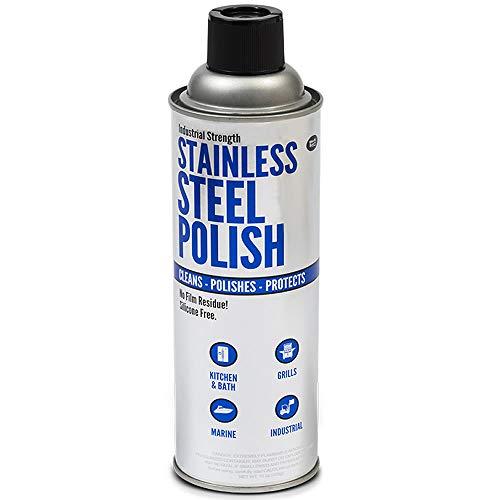 Gasoila SC16 Work Savr Stainless Steel Polish 15 oz Aerosol Can