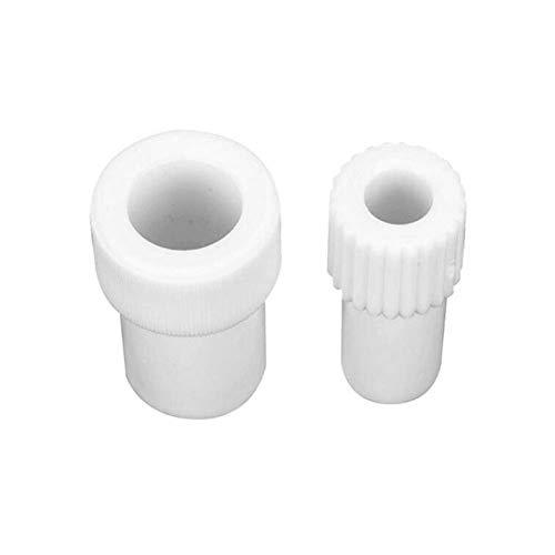 Dental Suction Tube Adaptor50 pcs Ceramics Saliva Ejector Adapter for Kids
