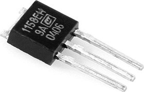 IC  Microchip KR1158EN9A voltage regulator 5V 015A USSR 5 pcs