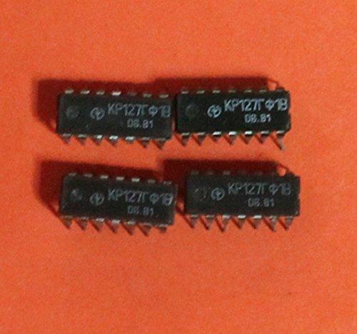 KR127GF1V Clock pulse generator IC  Microchip USSR 17 pcs