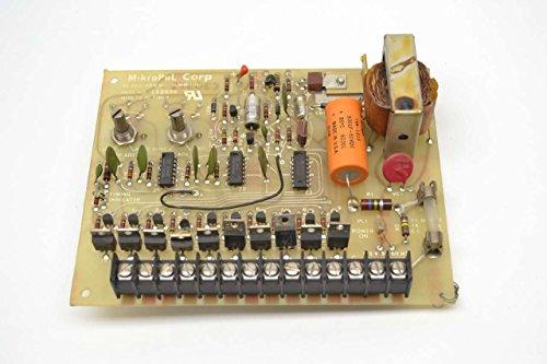 MIKROPUL 132596 MOD 72 IC MICRO PULSE TIMER PCB CIRCUIT BOARD B464954