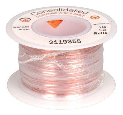 Magnet Wire 28 AWG 520 Feet 14 lb Plain Enamel Nylon Insulated