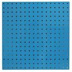 STORE LOGIC 5TPA8 Square Hole Pegboard 24x24 Blue PK2