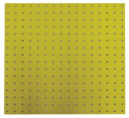 Square Hole Pegboard 24x24 Yellow PK2