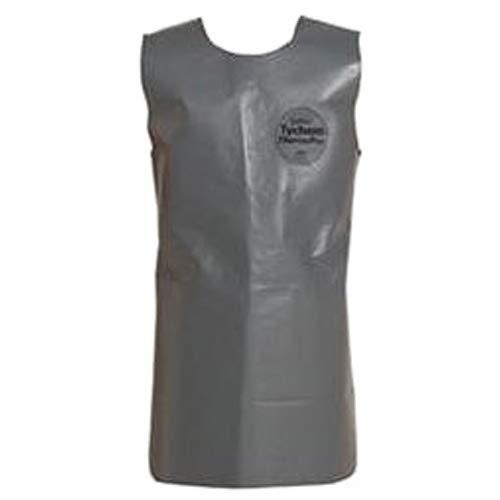 Dupont TP284TGYLG000400 Tychem ThermoPro Sleeveless Apron Nomex Waist Strap FR Nylon Buckle Large Gray Pack of 4