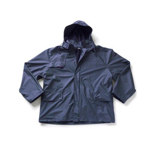 Mascot 07060-028-01-4XL Waterford Rain Jacket 4X-Large Navy Blue