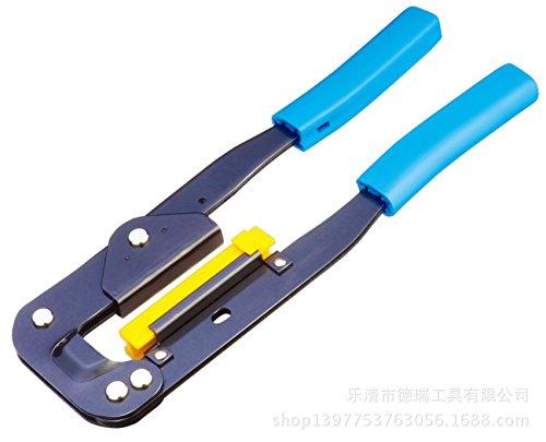 GUWANJI LY-214 PP Handle Modular Crimping Tool Multi Use on Telecom Connectors