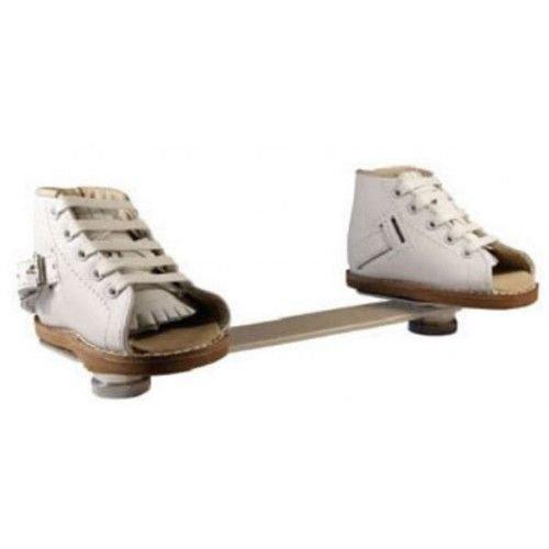 Club Foot Shoe Brace Denis Browne Splint Clamp-On Type Plates with Bar Foot12cm