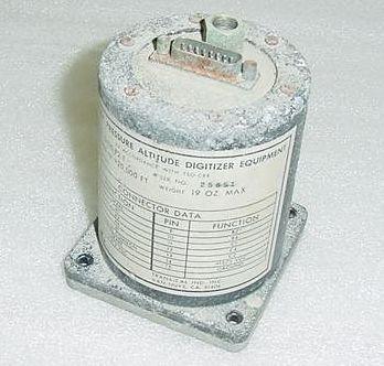 D120-P2-T C744001-0101 Transcal Altitude Blind Encoder