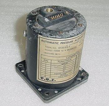 D120-P2-T Transcal Altitude Blind Encoder Reporter