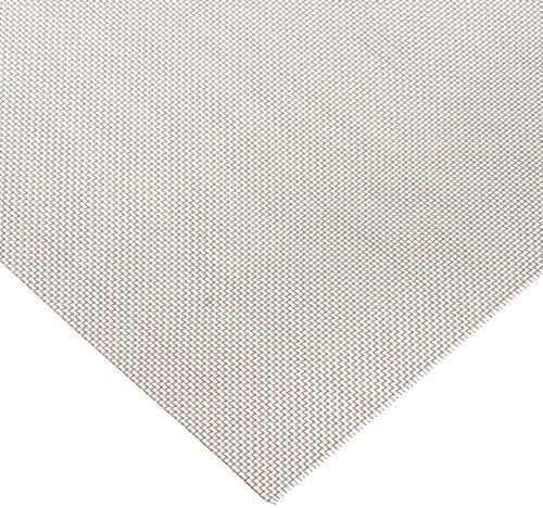 Aluminum Woven Mesh Sheet Unpolished Mill Finish ASTM E2016-06 12 Width 12 Length 0016 Wire Diameter 46 Open Area