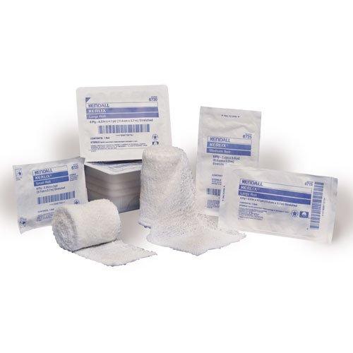Covidien 3324 Gauze Roll In Dispenser Carton 6 Ply Box 48 Rolls Non-Sterile Dispenser Carton 45 x 41 yds