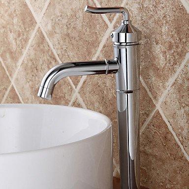 YZL Contemporary Ceramic valve single lever single hole chrome Centerset bathroom sink faucet