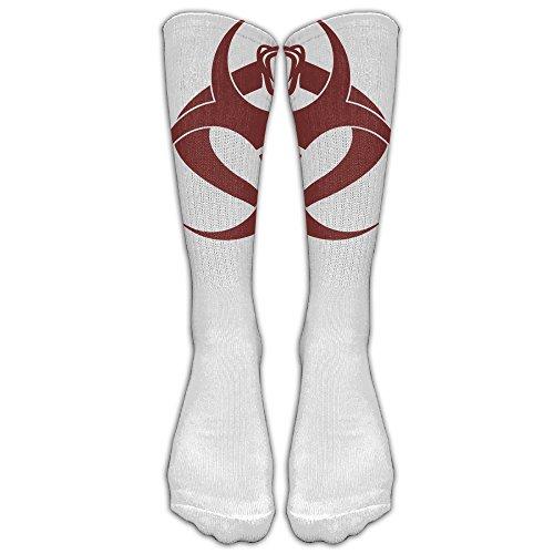 Cobra With Biochemical Markers Custom Knee High Socks Football Baseball Long Stockings For Men Women