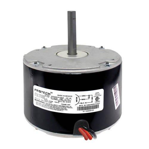 51-100999-08 - OEM Upgraded Rheem Condenser Fan Motor 16 HP 208-230  220-240 Volts 1075  900 RPM