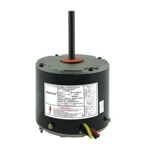 51-101774-02 - OEM Upgraded Rheem Condenser Fan Motor 15 HP 208-230 Volts 825 RMP