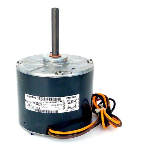 51-42179-01 - OEM Upgraded Rheem Condenser Fan Motor 13 HP 208-230 Volts 1075 RPM