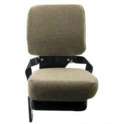 Side Kick Seat Fabric Light Brown New John Deere