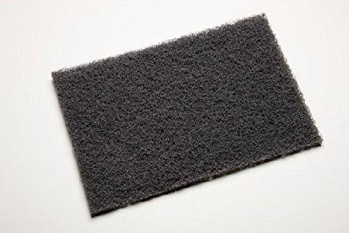 Scotch-BriteTM 7446 Abrasive Hand Pad Gray Color Silicon Carbide Grit Medium Case of 40