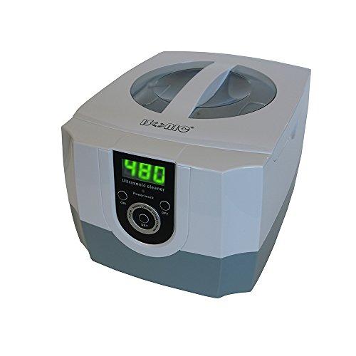 iSonic P4800 Commercial Ultrasonic Cleaner 15Qt14L whitegray color plastic basket 110V
